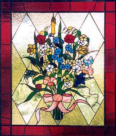 Cursive stained glass patterns for letters - free eBooks